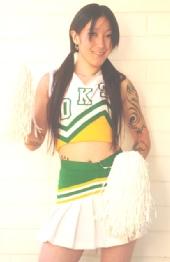 Lauren HotShotsModels - Sexy Cheerleader