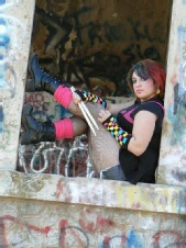 Nicki Haug - Punk photo shoot