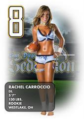 Rachel Carroccio - Lingerie Football League - San Diego Seduction