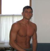 Adam Stewart - Shirtless