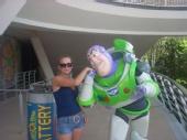 Jenny - ME at Disney World with Buzz Lightyear