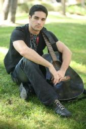 Sam Bakke - relaxing in the park