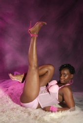 Chocolate ThunderBooty - Sexy in Pink