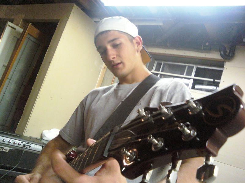 Chris - Playing Guitar