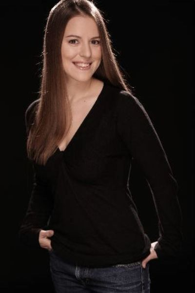Christina Robbins - 3/4 portrait in black