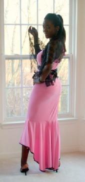 Amanda Finesse - Pink Dress