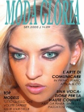 Vera Gafron - Vera Gafron covermodel for MODA GLORIA