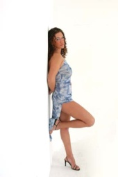 Alexis - Blue Dress Again