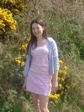 Rebecca -  me on a hill