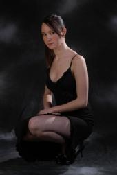 Hannah - black dress