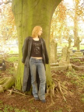 Becca - Kettering Graveyard Photo shoot