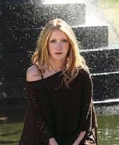 Ella Butler - Exterior fountain shot