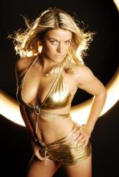 Charlie Darling - Gold Bikini