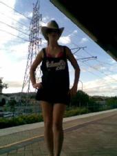 Jessica - Official QLD schoolies 09 shirt