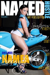 Namea Cassandra Soundz - Naked Hustle Mag Cover
