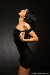 Ame-lee - black dress