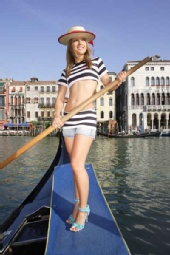 Katarina - Modeling in Venice