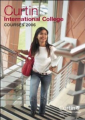 Ekaterina - Curtin International College Prospectus 2006
