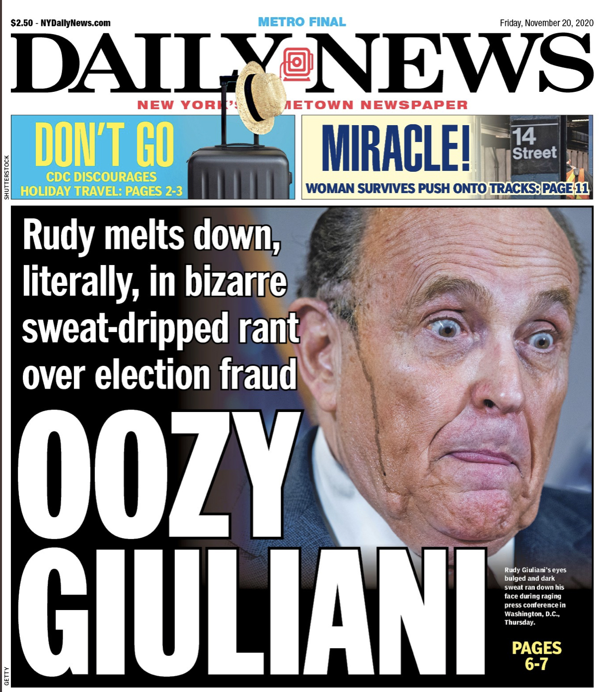 Mr. Astroglide® Lube - Oozy Giuliani