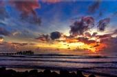 Hernan Halim - Sunset at Akarena Beach