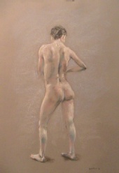 Fred Whitson - Nude standing 5