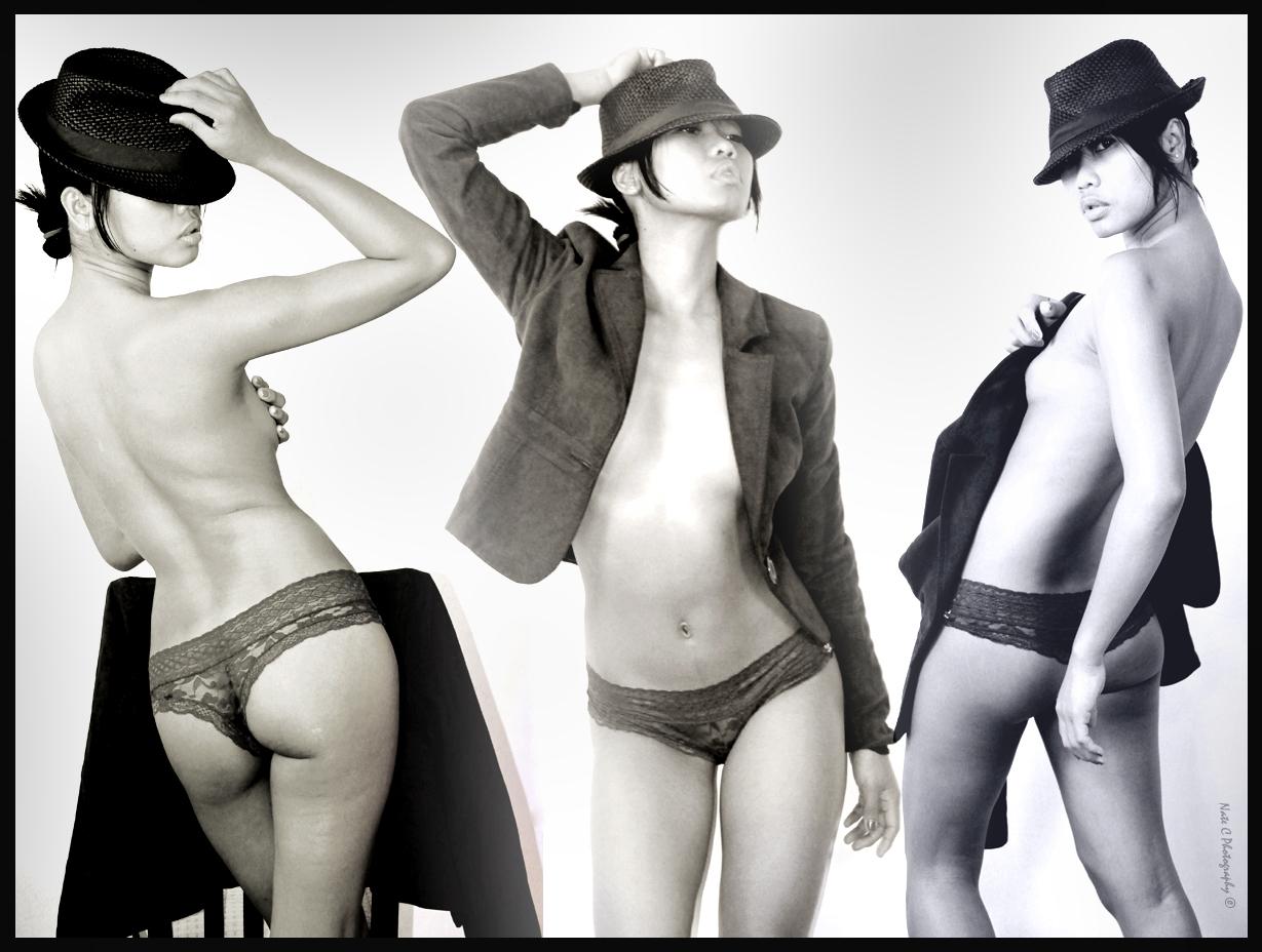 Niz Choi - black and white