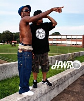 HodgesWRPhotos - Hot Kizzle & Yung Bezell of Shoe Box Gan