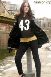 Fashion RHP - April Netzel/Steelers Shoot