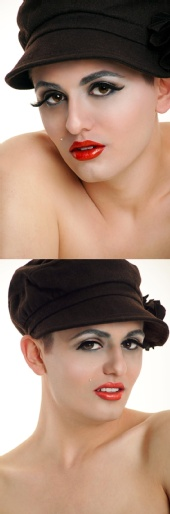 C.J. Ramser - Androgyny  - Pin-up Beauty