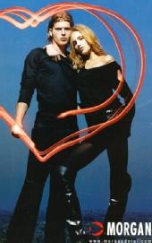 Kivan - Morgan De Toi- With Model Anja Rubik