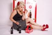 Beauty by NuNu - Coca Cola shoot-Model Joanne U.