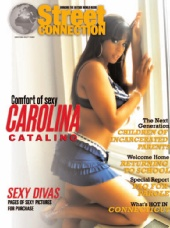Street Connection Magazine - Carolina Catalino on the cover