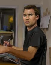 JD Painterly - self portrait