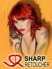 Sharp Retoucher