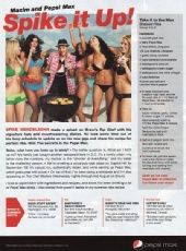 The Pink Light Model & Talent Agency - MAXIM Magazine Print Ad