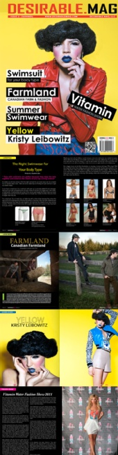 Desirable Mag LLC - issue 3 preview