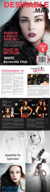 Desirable Mag LLC - issue 5a preview