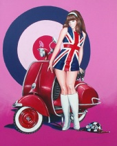 "Stephan Sandiares - ""Racer Girl UK"""
