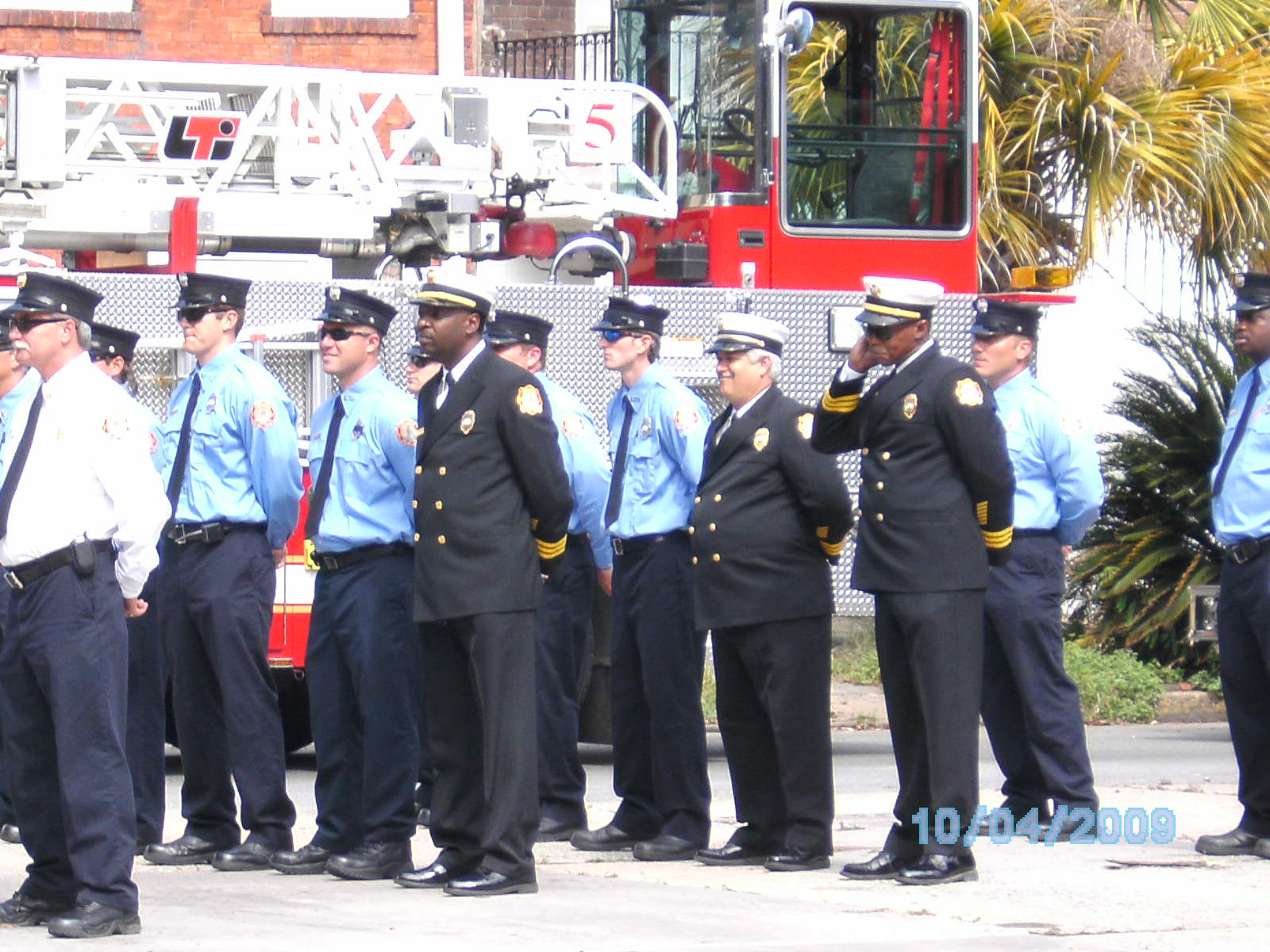 Ben Morse - Some of the brave men of SFFD.