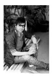 sunder saini - fashion male model new delhi